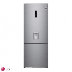 Nevera LG No Frost T. Europeo 500 Lts LB45SPP Gris