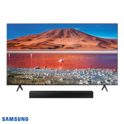 TV SAMSUNG 50TU7000 UHD 4K Smart TV + Barra de Sonido HW-T400